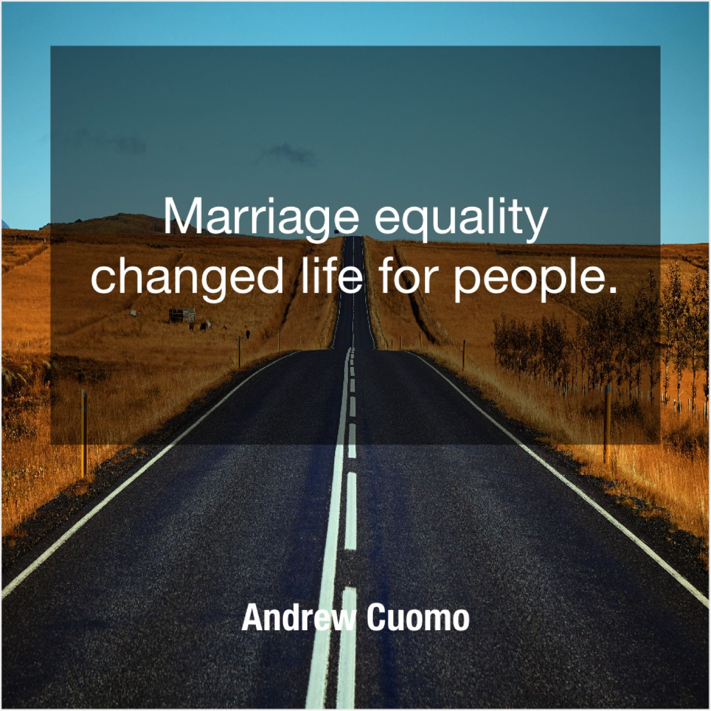 Andrew Cuomo Marriage Equality Changed Life For Marriage Equality Life Changes Andrew Cuomo