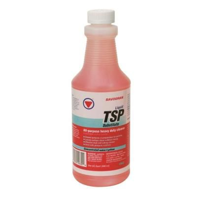 SAVOGRAN 1-qt. Liquid TSP Substitute Cleaner-10632 - The Home Depot