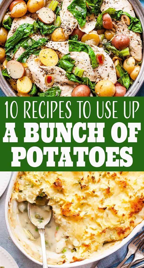 10 Easy Recipes to Use Up a Bunch of Potatoes | SimplyRecipes.com #russetpotatorecipes