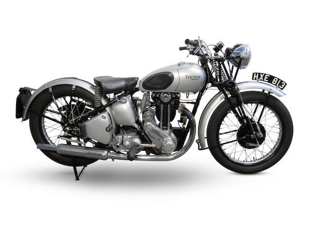 1942 Triumph 349cc 3hw Frame No Tl33482 Engine No 3hw43482 Vintage Motorcycles Triumph Motorcycles Triumph