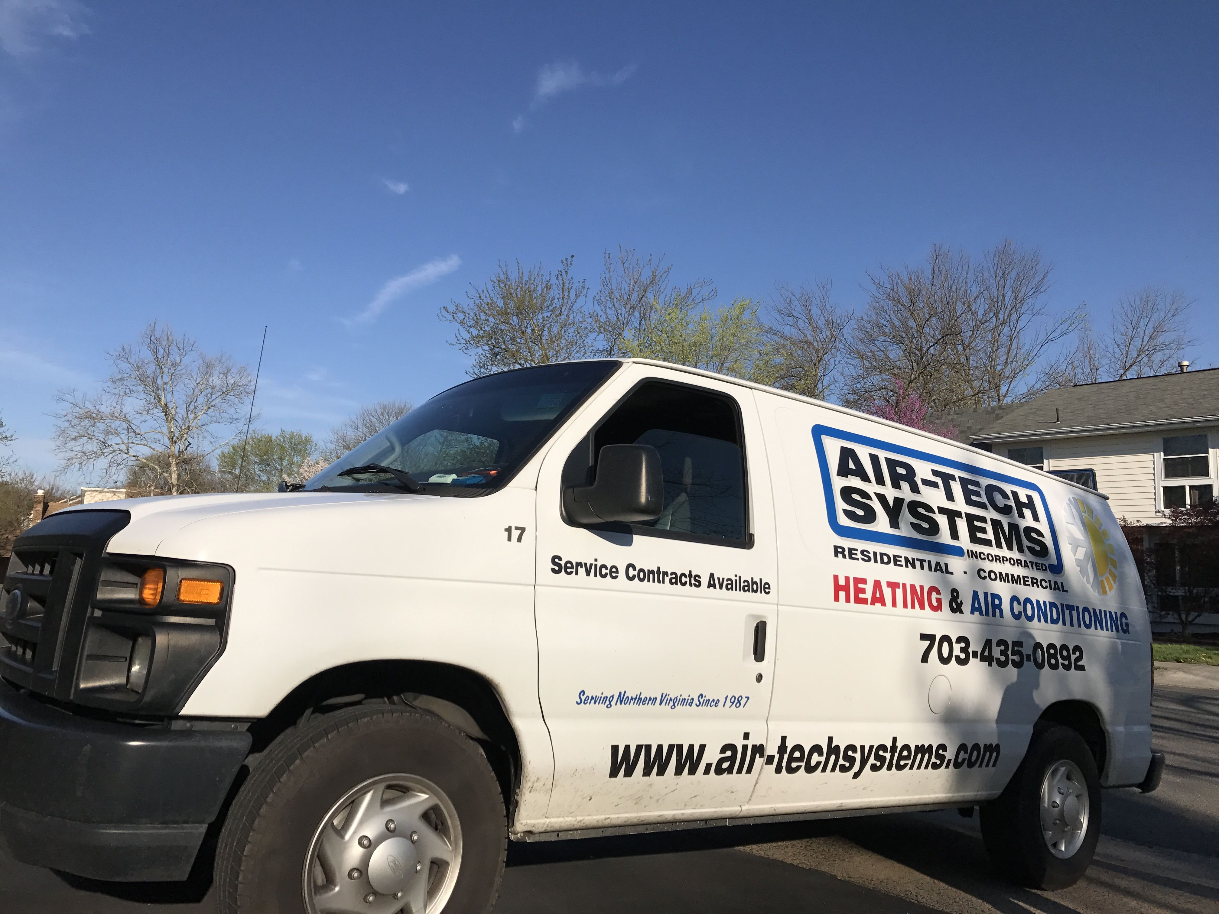 Heating Service Air Tech Systems Inc 10930 Clara Barton Dr 4050