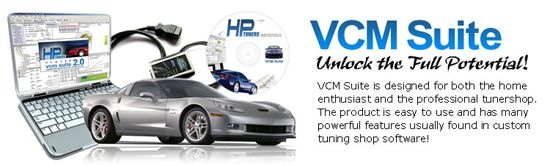 The HP Tuners VCM Editor utility is a comprehensive VCM/PCM