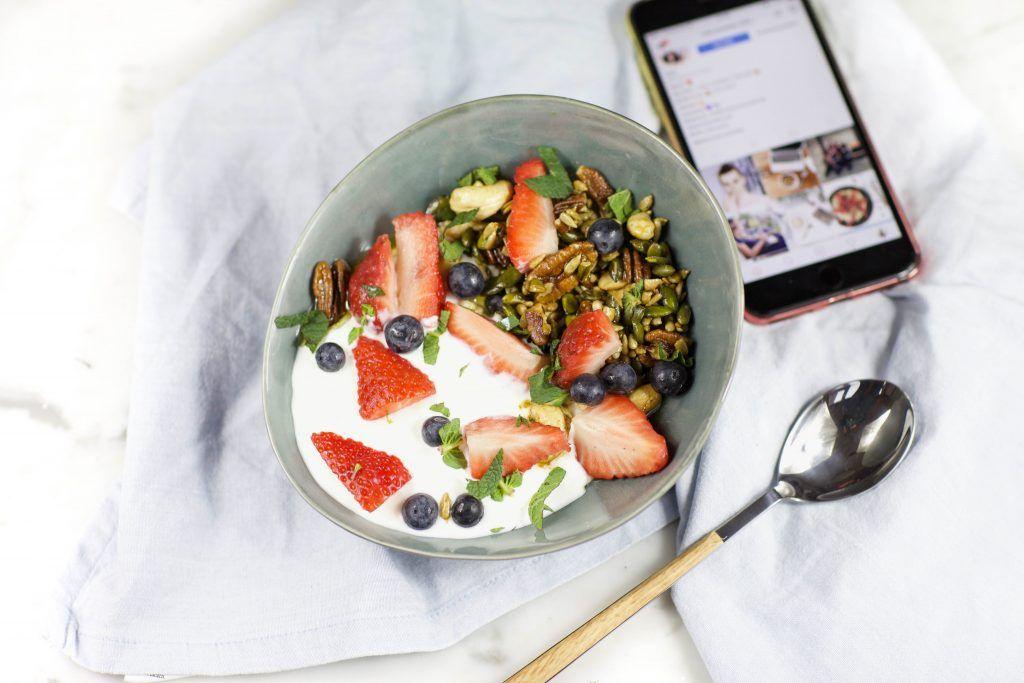 Heathy Breakfast - Vegetarisch - Protein - Gesund - Glutenfrei. Ein schnelles Frühstück für Genießer.