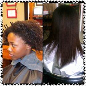 Before And After Brazilian Blowout Natural Hair