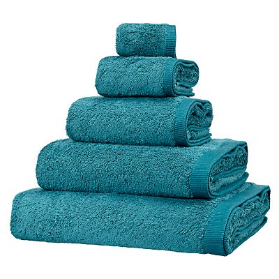 Introducing the range: House by John Lewis towels #johnlewis Got these in cerise for Amelia's and Moo's ensuites Got the teal for jacks ensuite