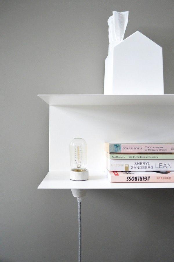 Ikea Hack Diy Nachttisch Lampe Mit Dem Schonsten Textilkabel Der