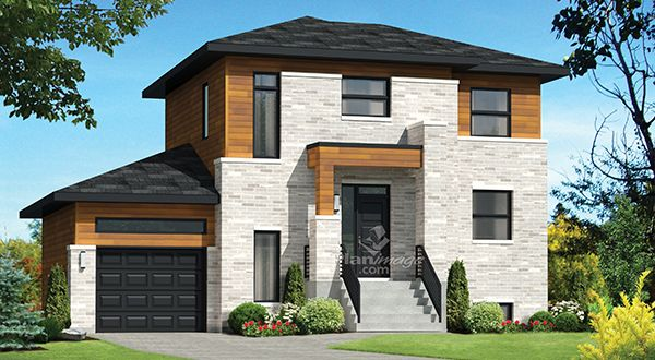 Planimage difficile de rester insensible au charme de cette maison tage au look for Constructeur maison prefabriquee