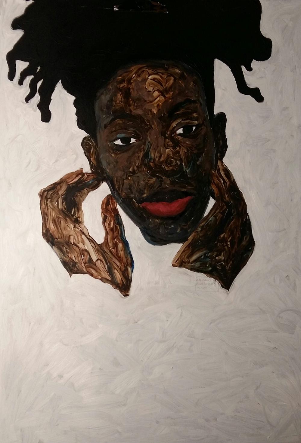 影戰士 by Tina Yeh in 2020 Black girl art, Black art