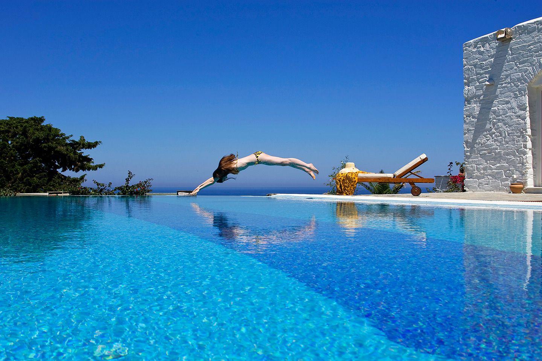 Yria Island Boutique Hotel Spa Is A Luxury Near Parikia The Beach In Parasporos Bay On Cyclades Of Paros Greece