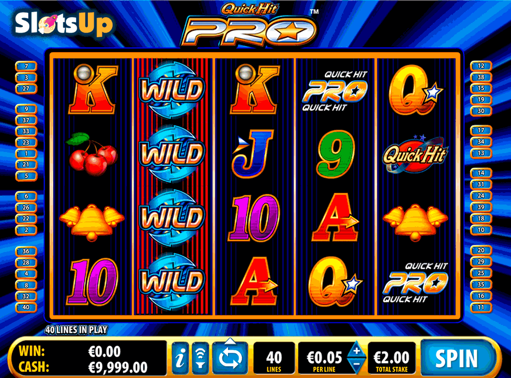 Quick Hit Pro Slot by Bally Play FREE at SlotsUp! Online