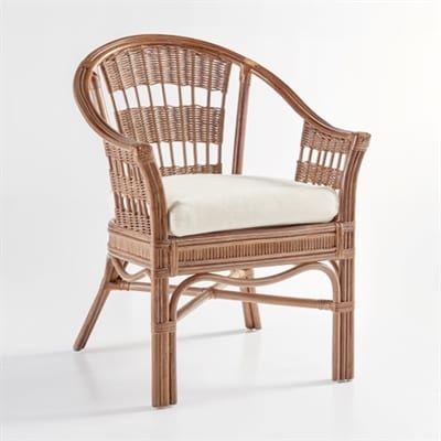 South Sea Rattan U0026 Wicker Furniture 1421 Bermuda Captains Chair