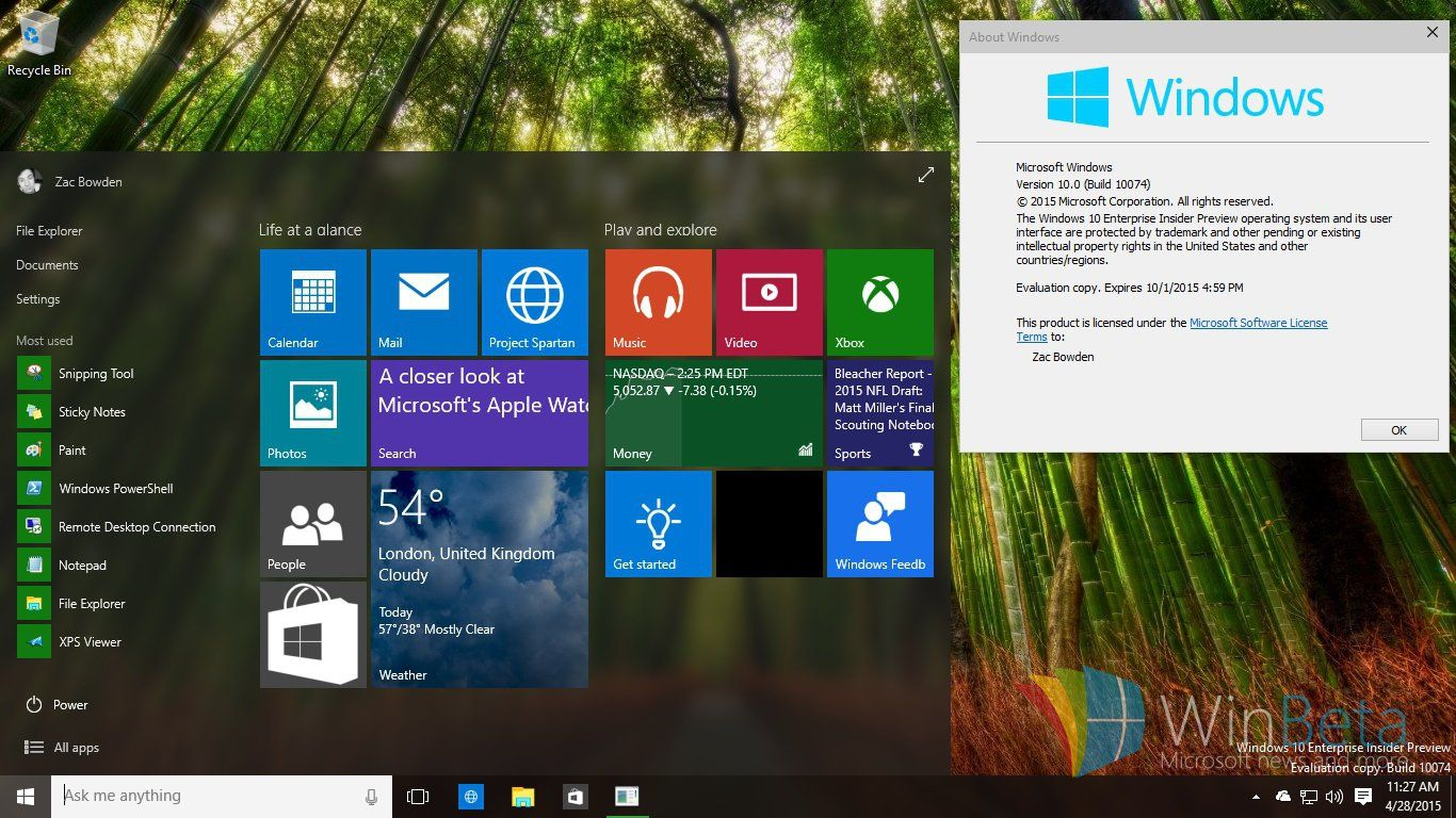 Windows 10 build 10074 esds are live and you can download them right windows 10 build 10074 esds are live and you can download them right now ccuart Gallery