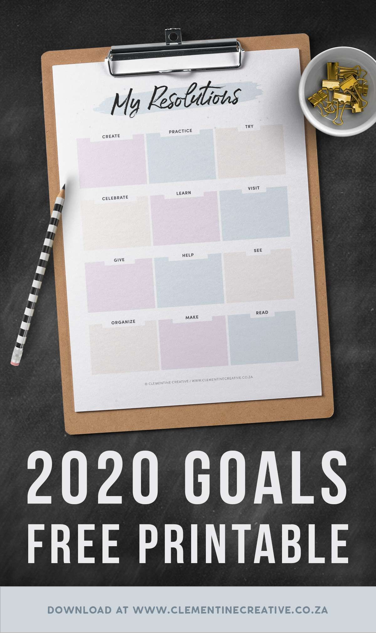 Set New Year S Goals With This Resolutions Worksheet Free Printable Pdf Planner Printables Free Free Printables New Year Goals