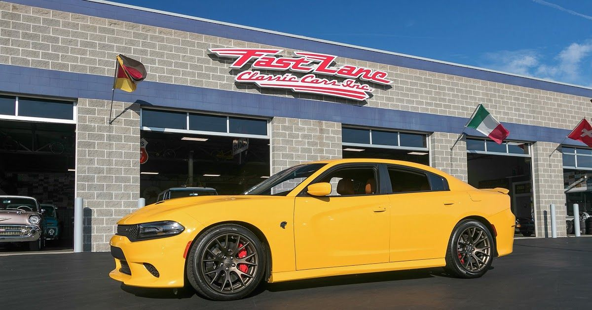 2017 Dodge Charger Hellcat Fast Lane Classic Cars 2017