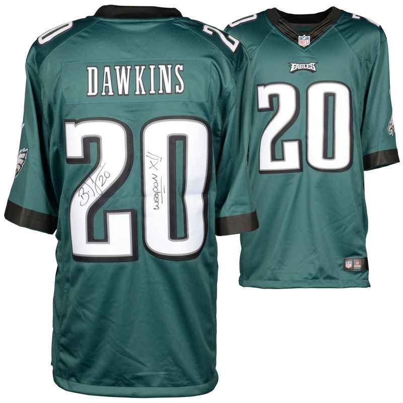new product 63b39 64921 Brian Dawkins Philadelphia Eagles Fanatics Authentic ...