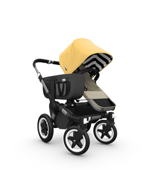 Bugaboo Donkey with Sunny Gold Special Edition Fabric Set
