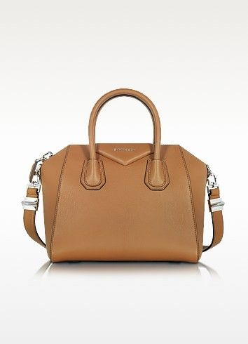 551f1d4454 GIVENCHY Antigona Caramel Brown Leather Small Bag.  givenchy  bags  shoulder  bags  hand bags  leather  lining