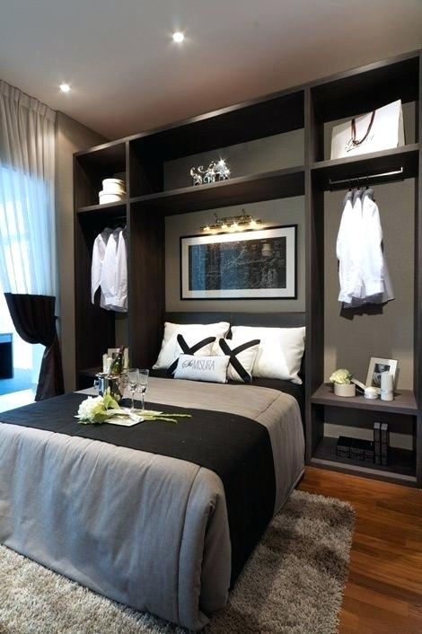 Guest Bedroom Ideas For Small Rooms Modern Guest Room Decor Awesome Small Space Awesome In 2020 Small Master Bedroom Elegant Bedroom Design Modern Bedroom Design