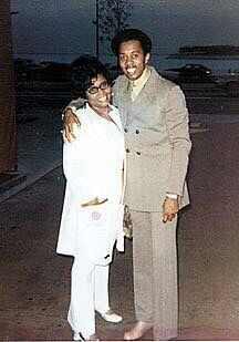 Melvin Franklin and his mother Momma Rose   Black music, Rhythm ...