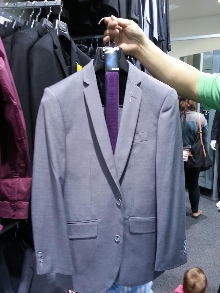 grey suit purple tie wedding decorations pinterest