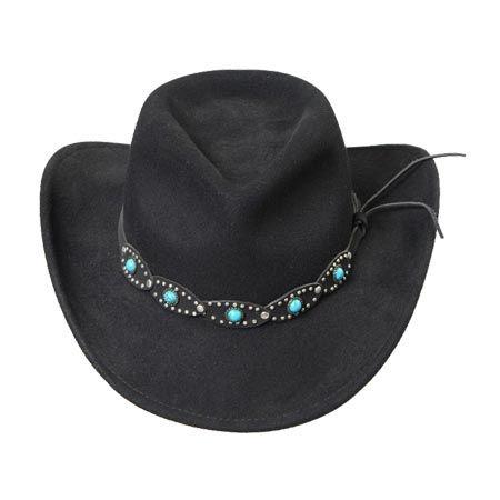 91e33a240a308 Wholesale Hats Men Cowboy Hat Wool Felt Men Cowboy Hat