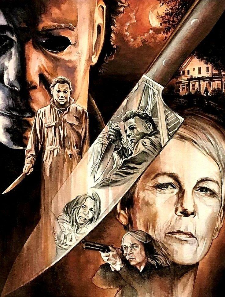 Halloween 2018 film fan art Horror movie art