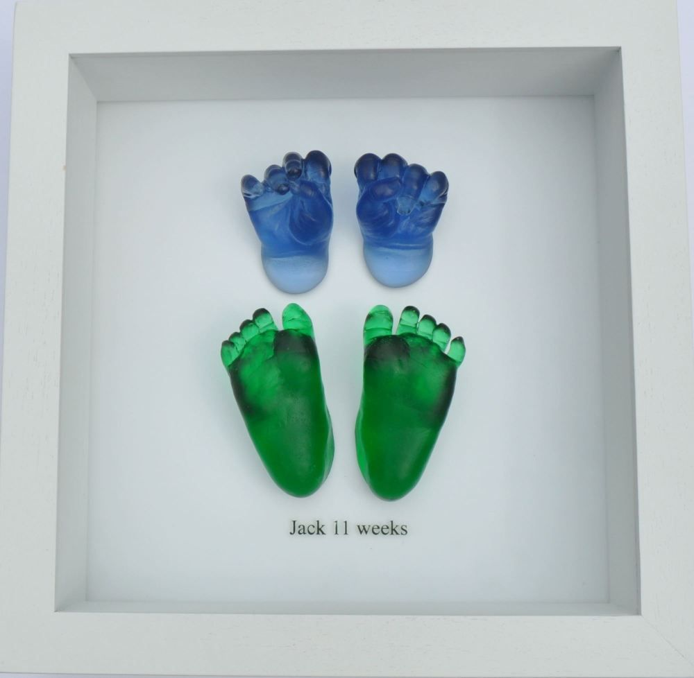 Our new casting. Coloured glass baby castings. These castings have ...