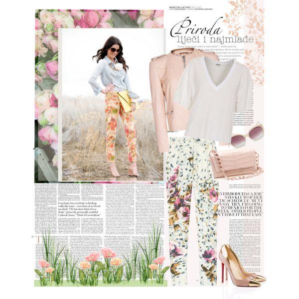 """I love floral print pants"" by ellie366 on Polyvore"