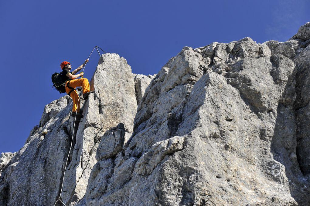 Klettersteig Tajakante : Fotogalerie tourfotos fotos zur klettersteig tour