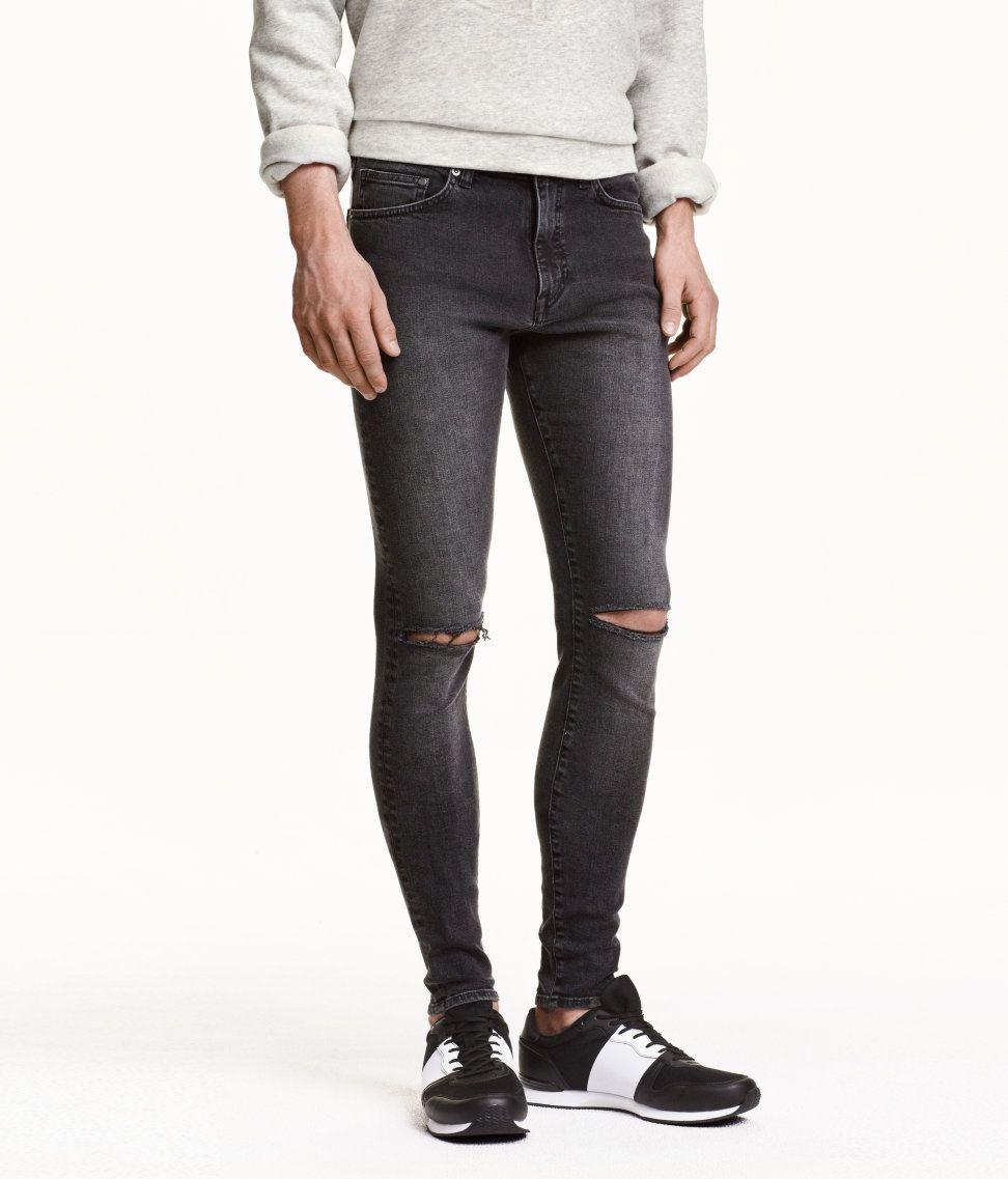 Rise low ultra jeans men photo