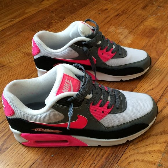 Womens Nike Air Max 90 Current Moire Pink White