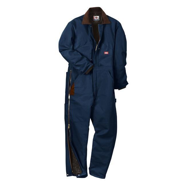 men s dickies premium insulated duck coveralls insulated on insulated work overalls id=85166