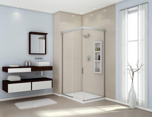 Evidence 48 Corner Shower Door At Menards It S Not The Bathroom