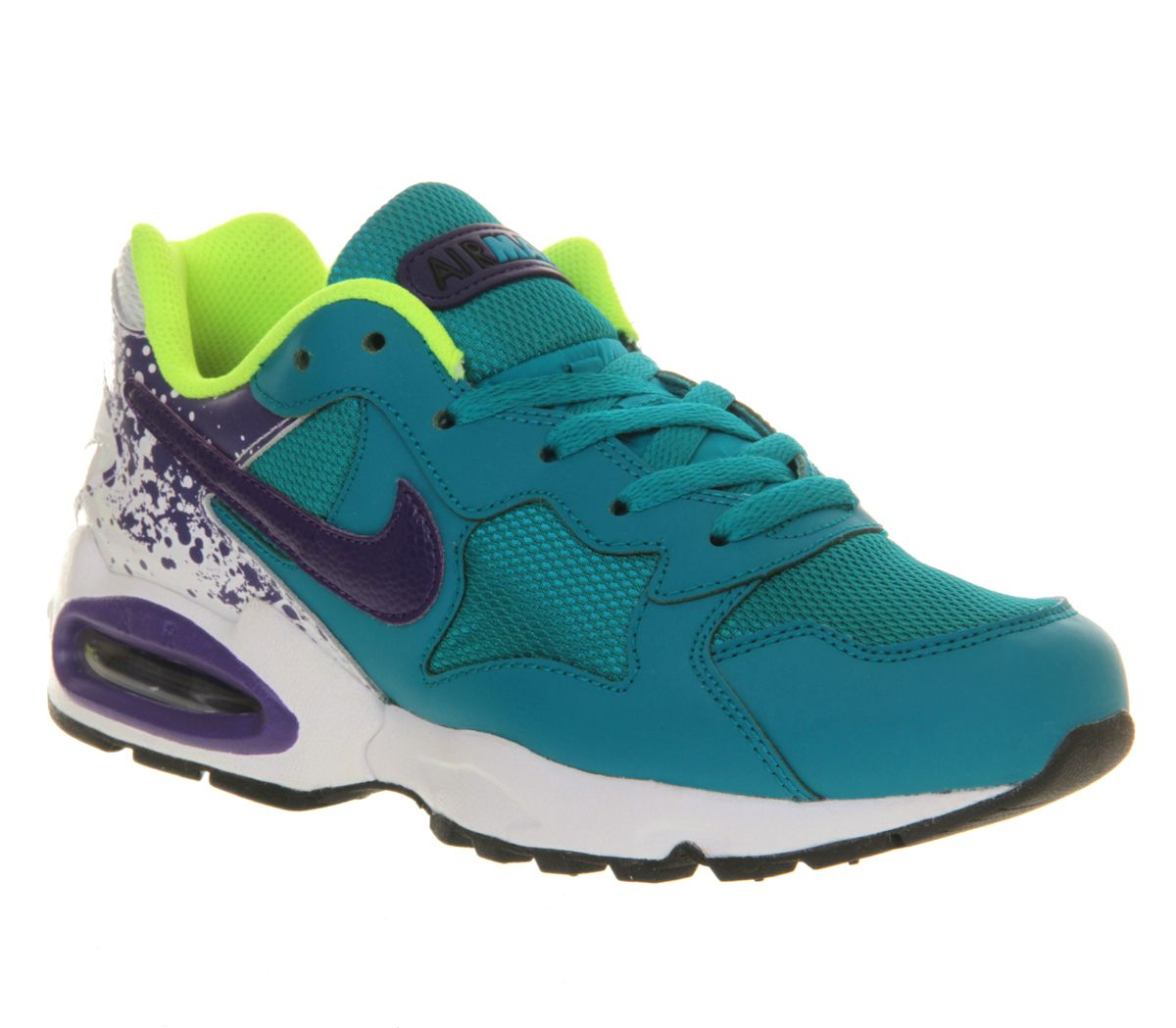Nike Air Max Triax Tropical Teal Electric Purple - 1996 me would be jealous of 2014 me owning these - shame there are no scrunchies or addidas tracksuits in tow. Back to the Triax
