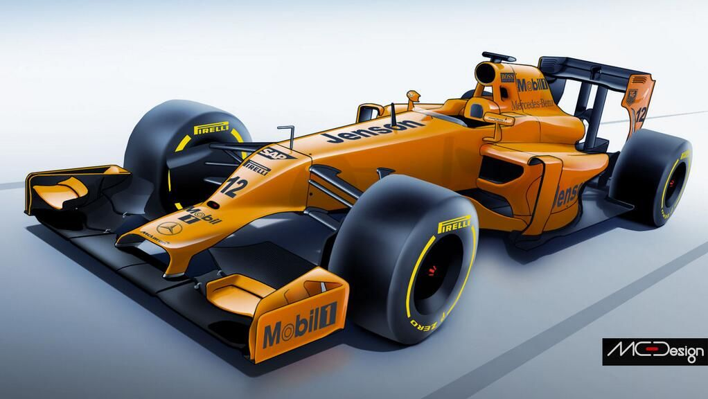 Image Rendering of what the 2014 #F1 Car Might Look Like.