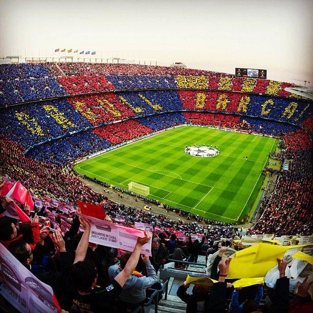 Barça pride at the Camp Nou   Orgull culer a les graderies de l Estadi a442aa9ed7e