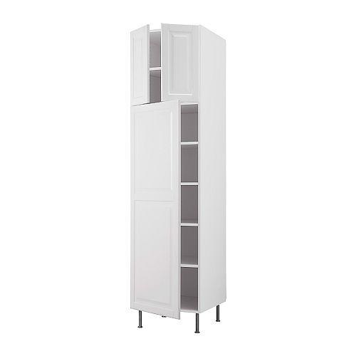 Ikea Kitchen Tall Cabinets: AKURUM High Cabinet With Shelves/3 Doors IKEA Adjustable