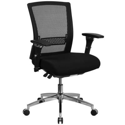 Flash Furniture Black Fabric/Mesh Office/Desk Chair | Mesh ...