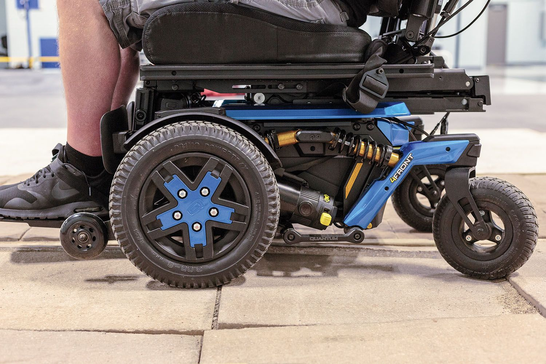 4front Quantum S First Front Wheel Drive Power Chair Rollstuhl Neue Wege