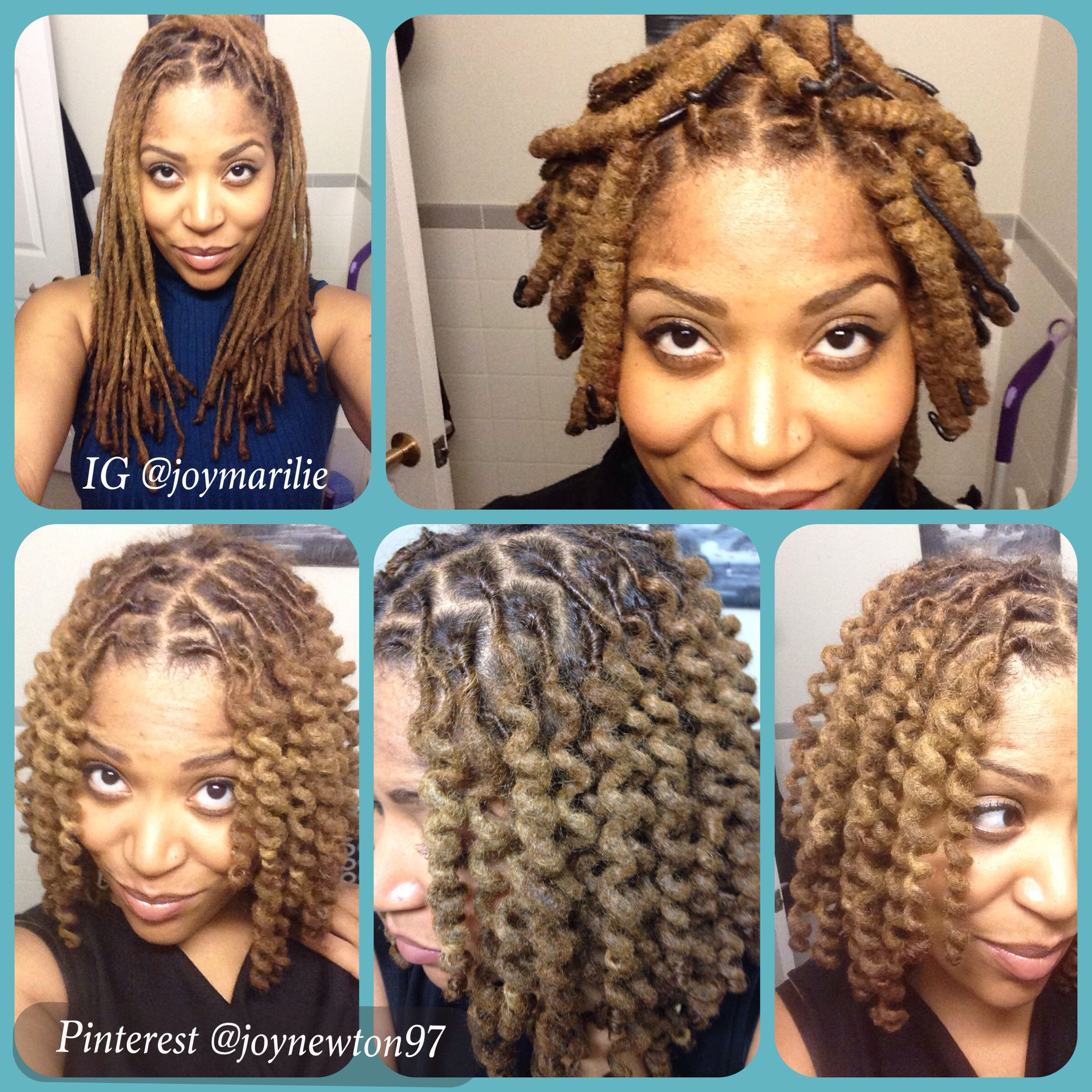 wrap a loc tool. natural hair, locs, locks, dreads | my loc styles