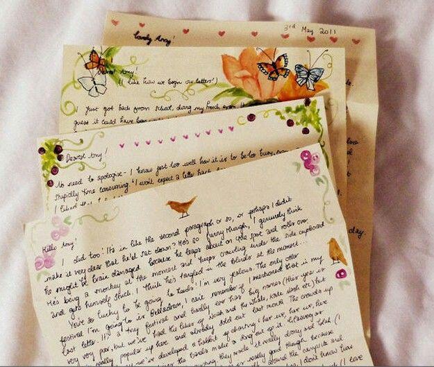Cute Handwritten Letters Penpal Handwritten Letters Pen Pal Letters