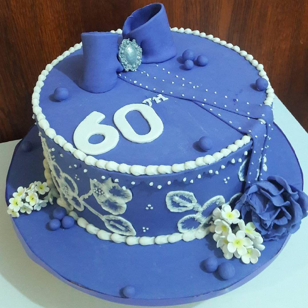 60th Anniversary Cake Birthday Cake Ideas Cake Design Diy For