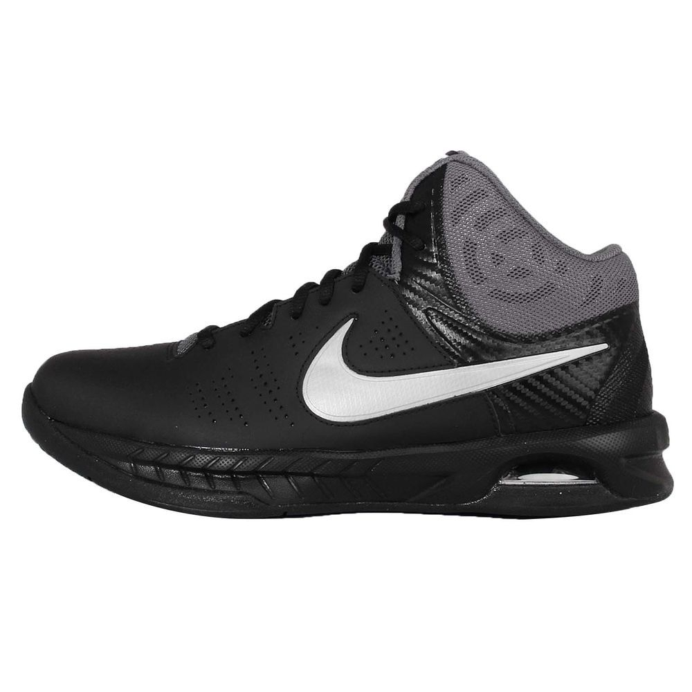 Nike Air Visi Pro VI 7 Black Grey Mens Basketball Shoes