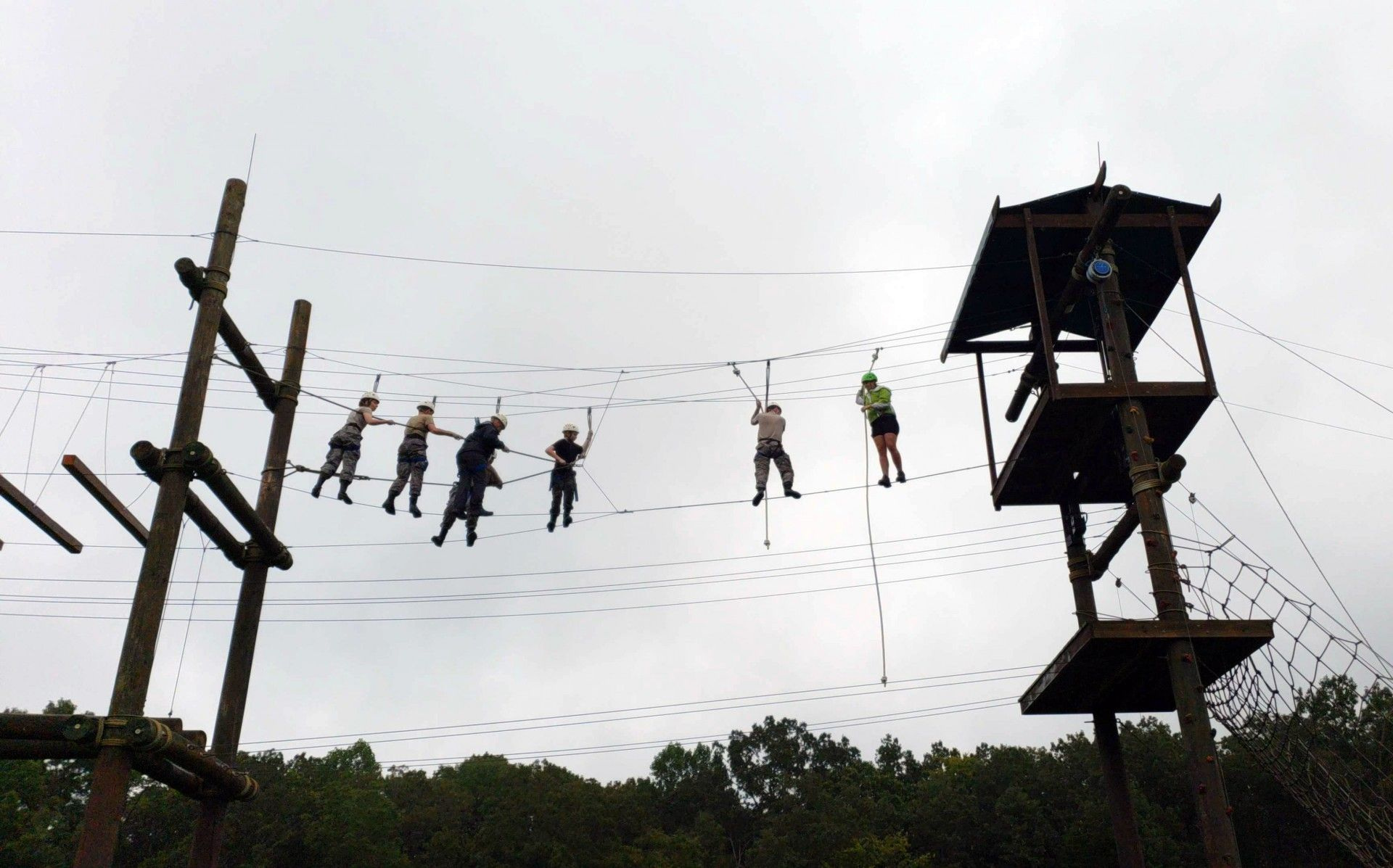 Kentucky Squadron Ft. Campbell Obstacle Course