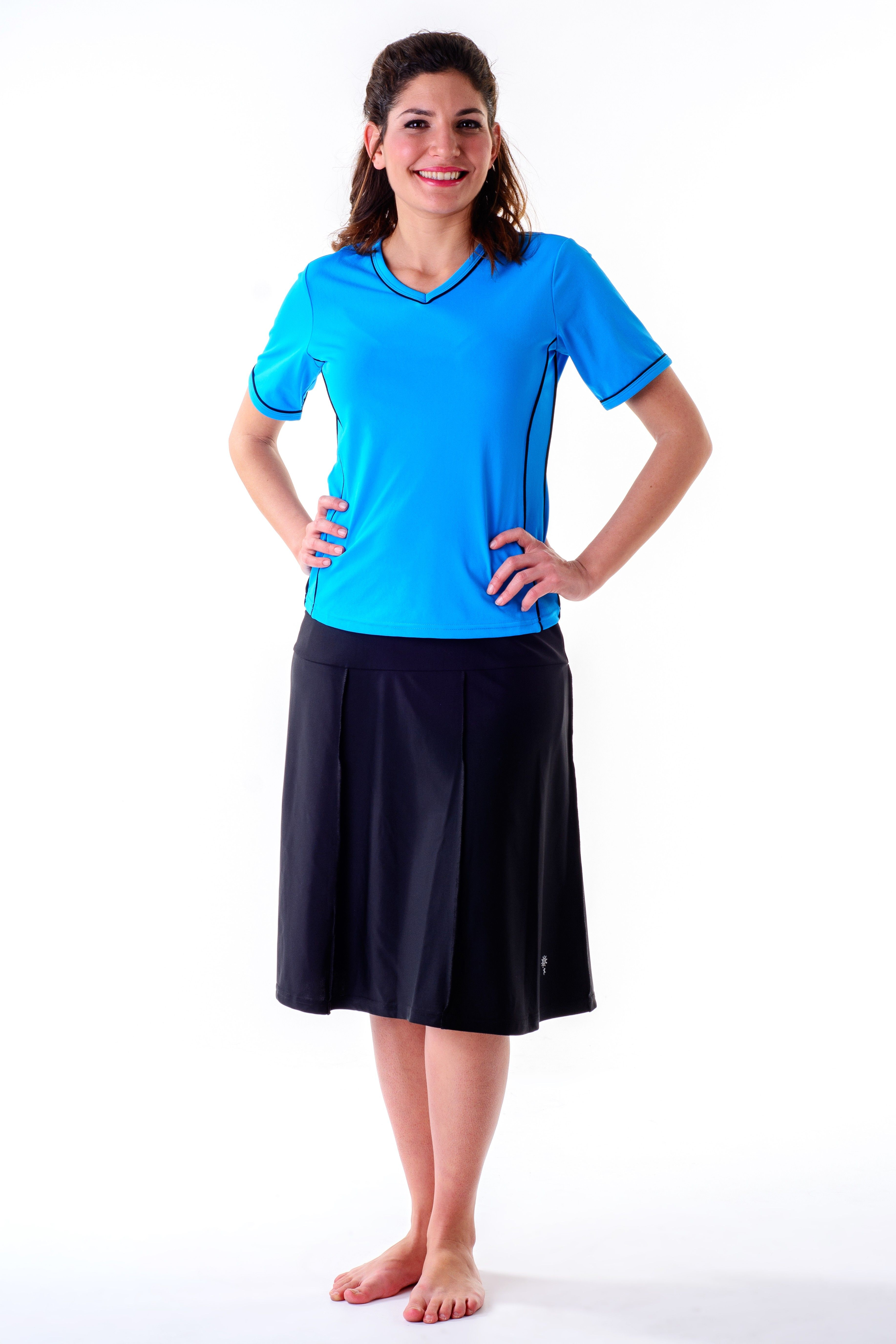 3027e14b660e5 Waters Edge Hip Hiding Drop Waist Long Swim Skirt long) No Pants. You never  had so many choices before! Swim skirts