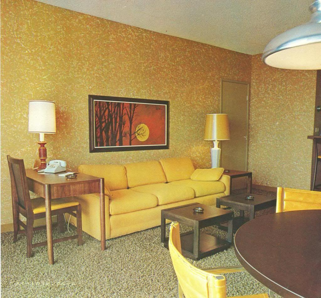 Original Disneyland Hotel Room