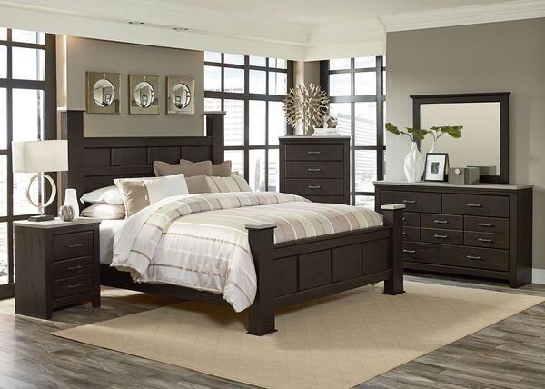 Henley Rustic Pine 8 Pc King Bedroom Was 2 499 92 Now 2 299 99 Remodel Bedroom Dark Bedroom Furniture Cheap Bedroom Furniture