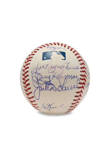 1969 New York Mets Championship Team Signed Baseball by Brigandi Coins and Collectibles at Gilt