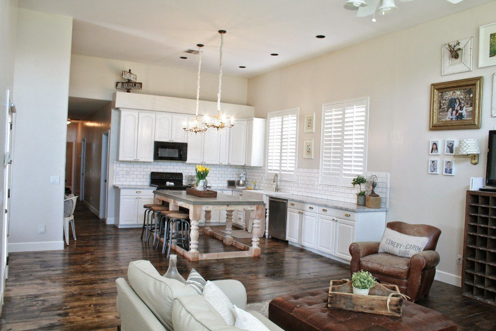 Grand Design Inexpensive DIY Kitchen  Floors And Island. Part 85