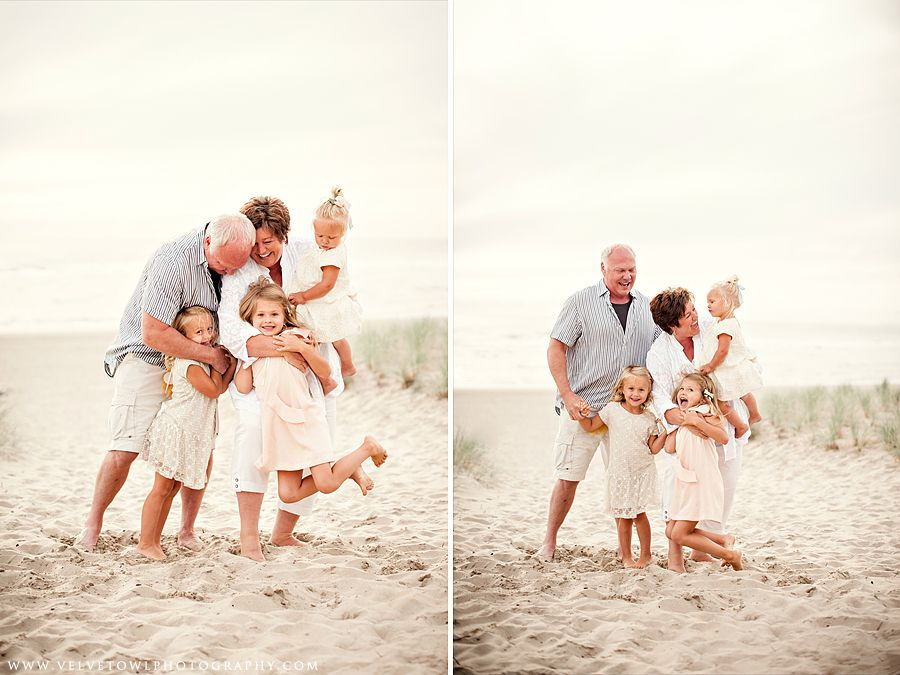 Borders Family :: {Cannon Beach, Haystack Rock, Lifestyle Family Photographer} #grandkidsphotography